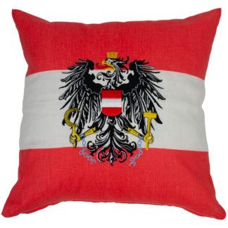 Polsterbezug Österreich rot